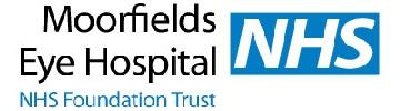 Sancus Client Moorfields Eye Hospital NHS